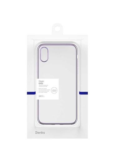 Benks Apple iPhone X Magic Glitz Ultra-Thin Transparent Protective Soft Case Mor